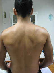 waxed back